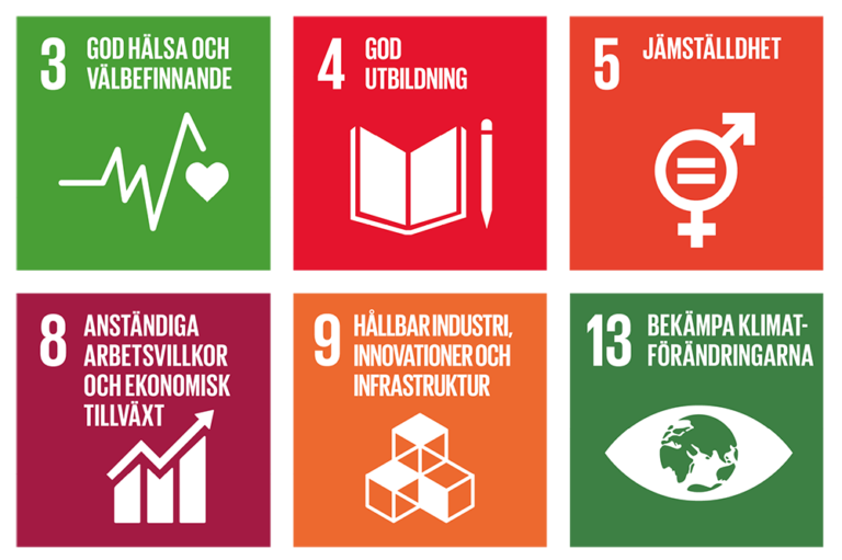 De 17 globala målen - Agenda 2030