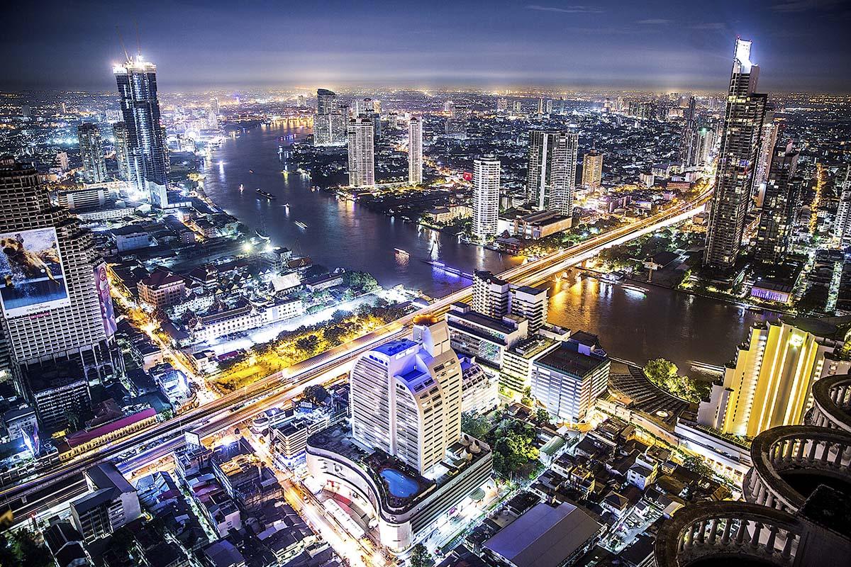 Översikt över Thailand