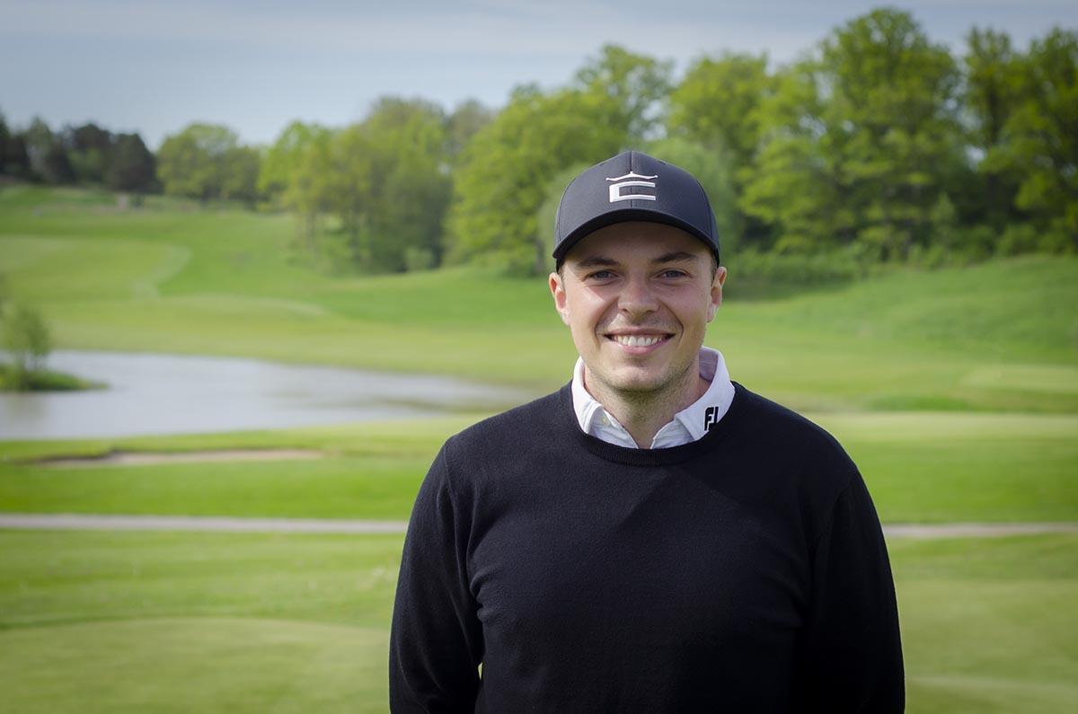 Erik Lindwall, golfspelare