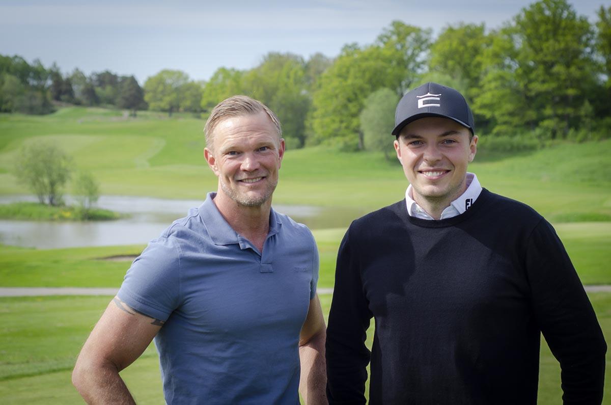 Daniel Sonebrand, Hire Quality och Erik Lindwall, golfspelare